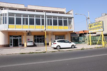 Vista esterna del negozio Russo Renato & C. s.a.s.